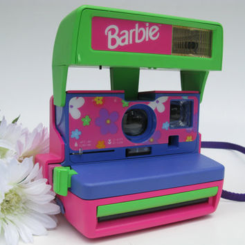 Polaroid Barbie Instant Camera With Flash 600 by TheElusiveFox