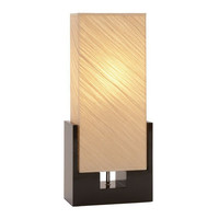 """Cole & Grey Toscana 25.59"""" H Table Lamp with Rectangular Shade"""
