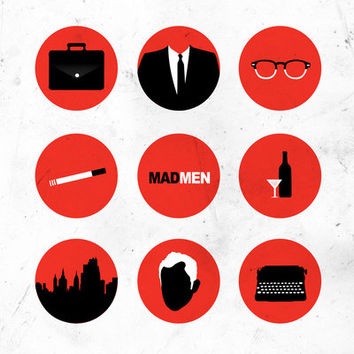 Mad Men Art Print by Magicblood | Society6