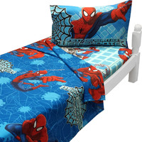 Ultimate Spider-Man Twin Sheet Set Marvel Bedding