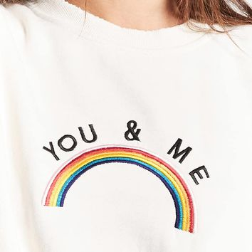 You & Me Graphic Sweatshirt