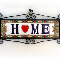 New homeowners,  Newlywed gift ideas, New house sign, Newlywed gift, Welcome sign, Wall hanging, New apartment decor, Our first home sign