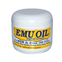 B.N.G. Natural Treasures Emu Oil Topical Cream - 4 oz