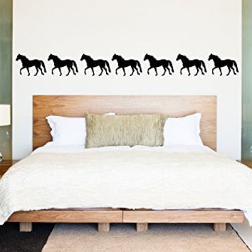 Horse Border Vinyl Wall Decal Sticker Graphic