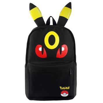 Pocket Monster Backpack Bags For Boys Girls School Backpacks Kids Best Gift School Bag Children Backpack