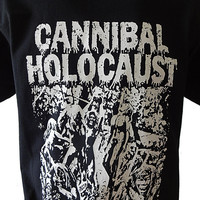 Cannibal Holocaust T-SHIRT Unisex Adults Ruggero Deodato Zombie