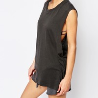 Wildfox Essentials Muscle Tank at asos.com