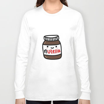 Nutella Long Sleeve T-shirt by Iotara