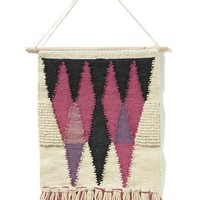 triangles wall hanging