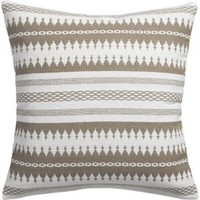 "Insignia Natural 23"" Pillow With Down-alternative Insert"