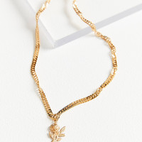Frasier Sterling Forever Yours Choker Necklace   Urban Outfitters