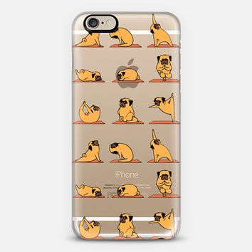 Pug Yoga iPhone 6s case by huebucket | Casetify