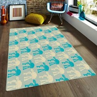 Star wars Rugs - Nursery Area Rugs - Rugs for Kids - ATAT Rug