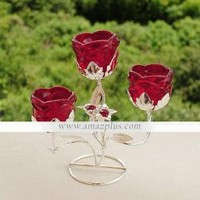 Rose Shape Iron Candle Holder [#00286722] - US$15.89 : Amazplus.com