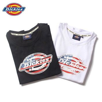 hcxx 689 Dickies Short-sleeved T-shirt for men and women with cotton round collar