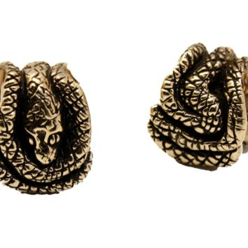 Python Cuff Weights | High Polish Bronze