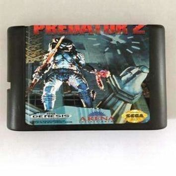 Predator 2 - 16 bit MD Games Cartridge For MegaDrive Genesis console