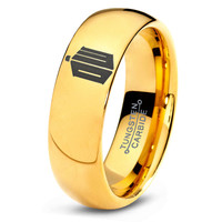 Doctor Who Ring Time Lord Design Ring Mens Fanatic Geek Sci Fi Science Fiction Boys Girl Womens Doctor Who Time Lord Fathers Day Gift Tungsten Carbide 235