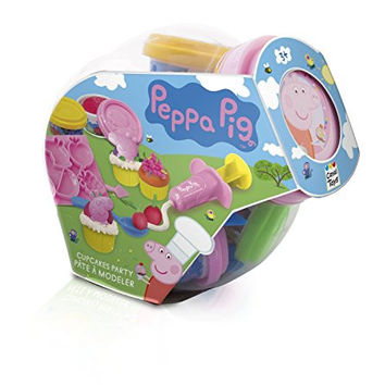 Peppa Pig Cupcake Party Set 3+ Years Fishbowl Style Compatible with Play Doh