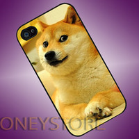 iDoge Shibe Dogee - Photo Print for iPhone 4/4s, iPhone 5/5C, Samsung S3 i9300, Samsung S4 i9500 Hard Case