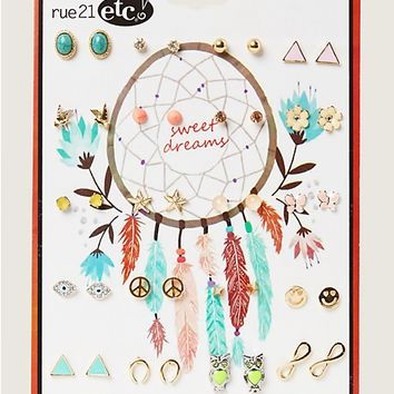 Free Spirit Earring 20-Pack | Earrings | rue21