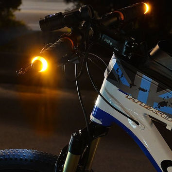 Bicycle Handlebar Turn Signal Light