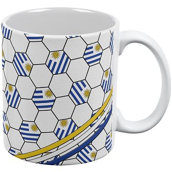 World Cup Uruguay Soccer Ball All Over Coffee Mug