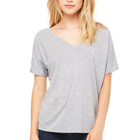 Bella Flowy Basic V-Neck Tee