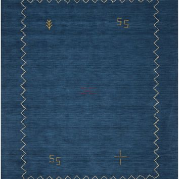 Himalaya Contemporary Indoorarea Rug Blue