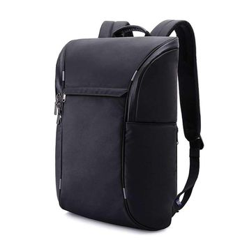 American Cool Black Oxford Computer Backpack Student Technology Light Male Bag