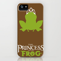 The Princess and the Frog iPhone Case by Citron Vert | Society6