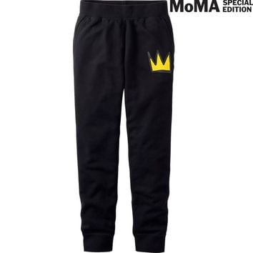 MEN SPRZ NY SWEAT PANTS (JEAN-MICHEL BASQUIAT) | UNIQLO