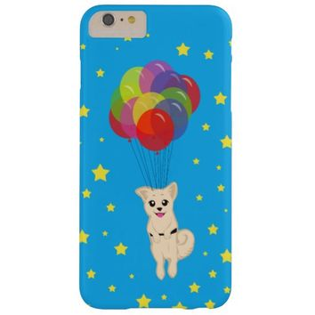 Puppy with Balloons Barely There iPhone 6 Plus Case