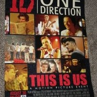ONE DIRECTION: THIS IS US 11X17 INCH PROMO MOVIE POSTER