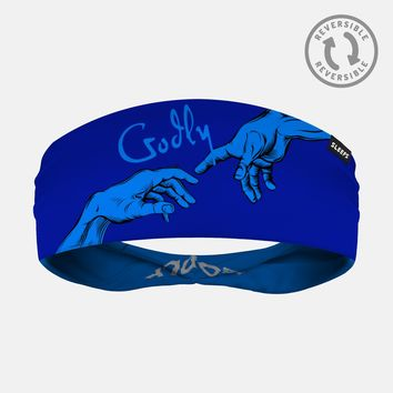 Godly Blue Headband