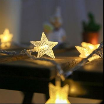New Arrival  5M 28 LED star string Fairy Lights for wedding Home outdoor christmas tree decorations christmas lights indoor