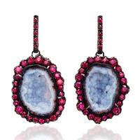 One-Of-A-Kind Geode Drops | Moda Operandi