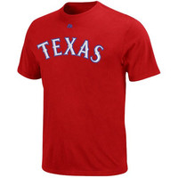 Yu Darvish Texas Rangers Youth Red Jersey Name and Number T-Shirt Medium