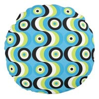 Waves Round Pillow