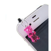 Pink Gummy Bear iPhone Charm by Techlovin on Etsy