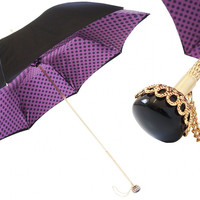 Pasotti Purple Dash Umbrella