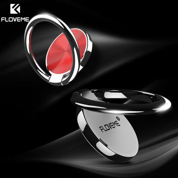 Metal Finger Ring Phone Holder with Strong Magnetic Hold
