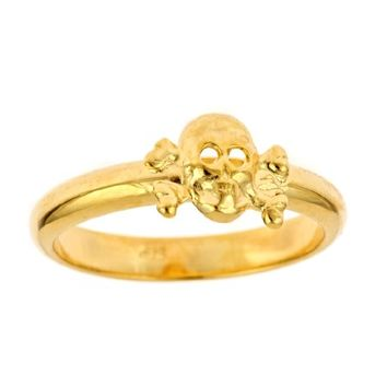 Supermarket: Baby Badass Skull Ring from Emily Elizabeth Jewelry