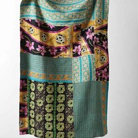 One-Of-A-Kind Kantha Quilt- Multi One
