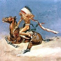 Pony War Dance Digital Art by Frederic Remington - Pony War Dance Fine Art Prints and Posters for Sale