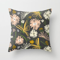 Darby Throw Pillow by Heather Dutton