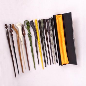 Cool Package with original box New Cosplay Hogwarts Dumbledore Mediumistic Magical Wand    for Harri Potter CosplayAT_93_12