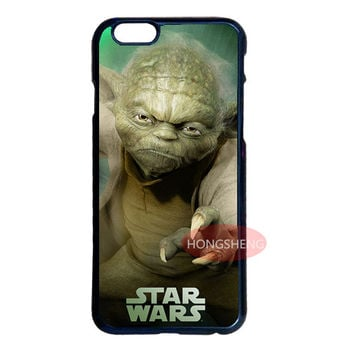 Star Wars Yoda Cover Case for LG G2 G3 G4 iPhone 4S 5S 5C 6 6S 7 Plus iPod 5 Samsung Note 2 3 4 5 S3 S4 S5 Mini S6 S7 Edge Plus