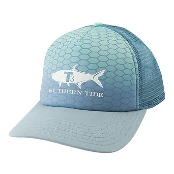 Tarpon Foam Trucker Hat in Grey by Southern Tide