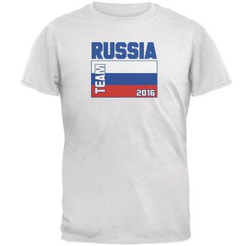 DCCKU3R Summer Olympics Team Russia Mens T Shirt